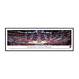 NCAA Framed Arena Photo of University of Wisconsin - The Kohl Center