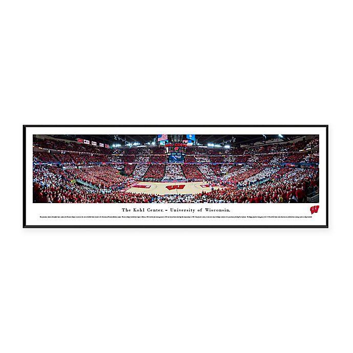 Alternate image 1 for NCAA Framed Arena Photo of University of Wisconsin - The Kohl Center