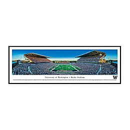 NCAA Framed Stadium Photo of University of Washington - Husky Stadium