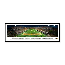 NCAA Framed Stadium Photo of University of Southern Mississippi - M.M. Roberts Stadium