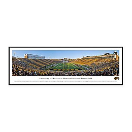 NCAA Framed Stadium Photo of University of Missouri - Memorial Stadium/Faurot Field