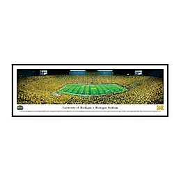 NCAA Framed Stadium Photo of University of Michigan - Michigan Stadium