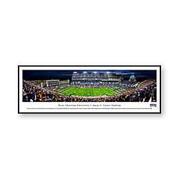 NCAA Framed Stadium Photo of Texas Christian University - Amon G. Carter Stadium