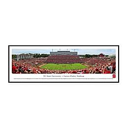 NCAA Framed Stadium Photo of North Carolina State University - Carter - Finley Stadium