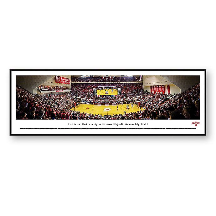 Alternate image 1 for NCAA Framed Arena Photo of Indiana University - Assembly Hall