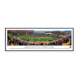 NCAA Framed Stadium Photo of Appalachian State University - Kidd Brewer Stadium