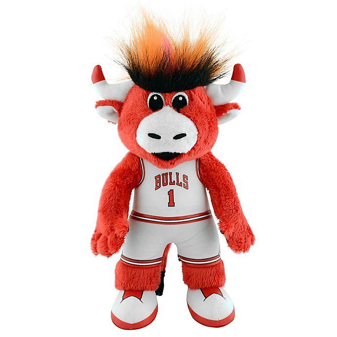 Bleacher Creatures Chicago Bulls Benny Mascot Plush Figure