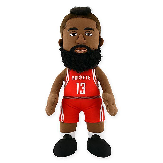 Alternate image 1 for Bleacher Creatures Houston Rockets James Harden Plush Figure