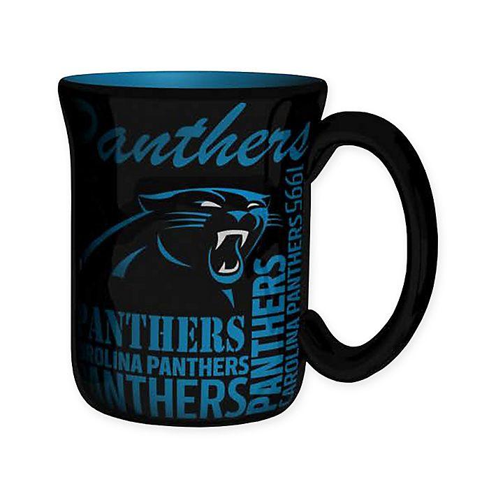 Alternate image 1 for NFL Carolina Panthers 17 oz. Sculpted Spirit Mug