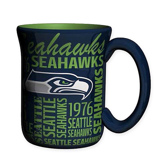 Alternate image 1 for NFL Seattle Seahawks 17 oz. Sculpted Spirit Mug