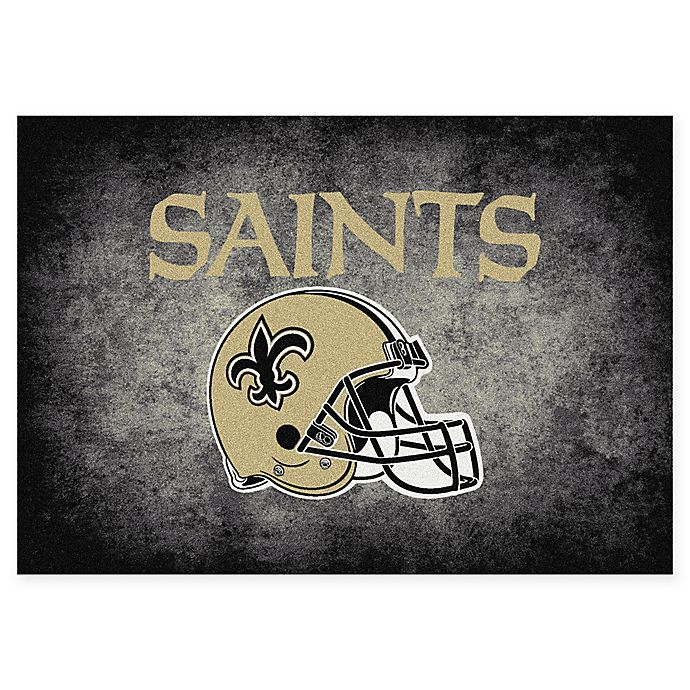 Alternate image 1 for Milliken NFL New Orleans Saints 5-foot 4-Inch x 7-Foot 8-Inch Area Rug