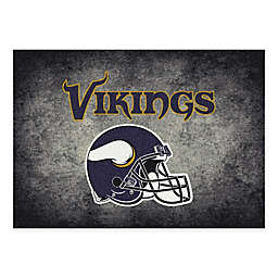 Milliken NFL Minnesota Vikings 5-foot 4-Inch x 7-Foot 8-Inch Area Rug
