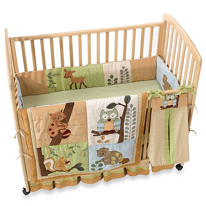 Lambs Ivy Enchanted Forest 6 Piece Crib Bedding