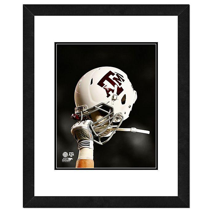 Alternate image 1 for Texas A&M University Team Helmet Framed Photo