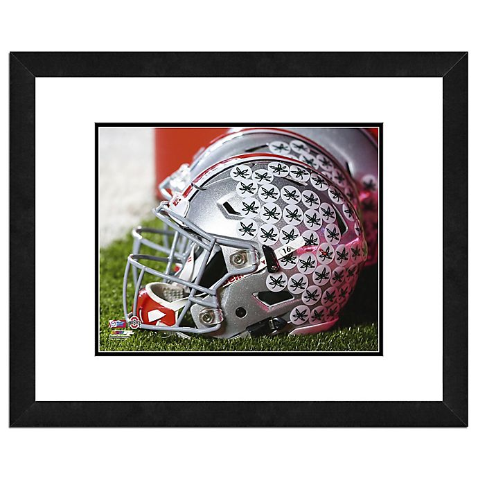 Alternate image 1 for Ohio State University Team Helmet Framed Photo