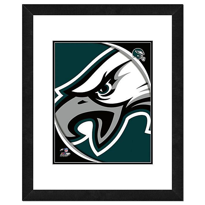 Alternate image 1 for NFL 18-Inch x 22-Inch Philadelphia Eagles Team Logo Framed Photo