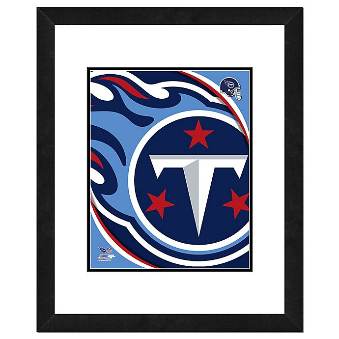 Alternate image 1 for NFL 18-Inch x 22-Inch Tennessee Titans Team Logo Framed Photo