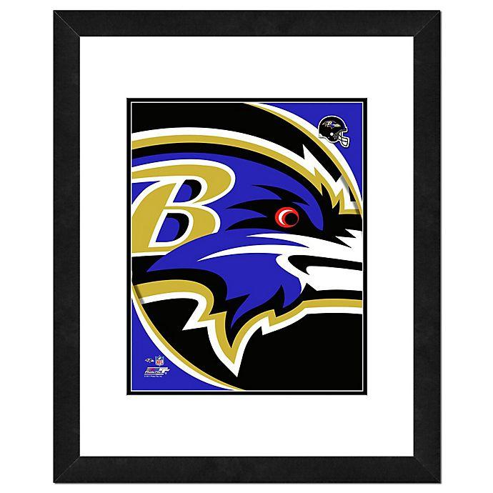 Alternate image 1 for NFL 18-Inch x 22-Inch Baltimore Ravens Team Logo Framed Photo
