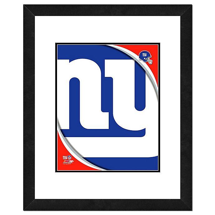 Alternate image 1 for NFL 18-Inch x 22-Inch New York Giants Team Logo Framed Photo