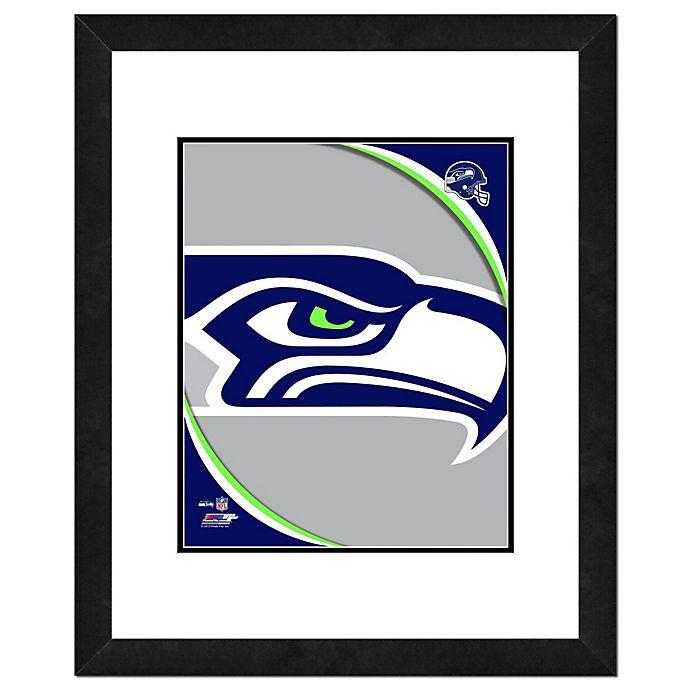 Alternate image 1 for NFL 18-Inch x 22-Inch Seattle Seahawks Team Logo Framed Photo