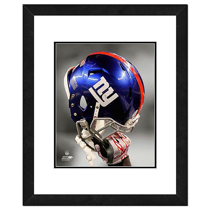 Alternate image 1 for NFL 18-Inch x 22-Inch New York Giants Helmet Framed Photo