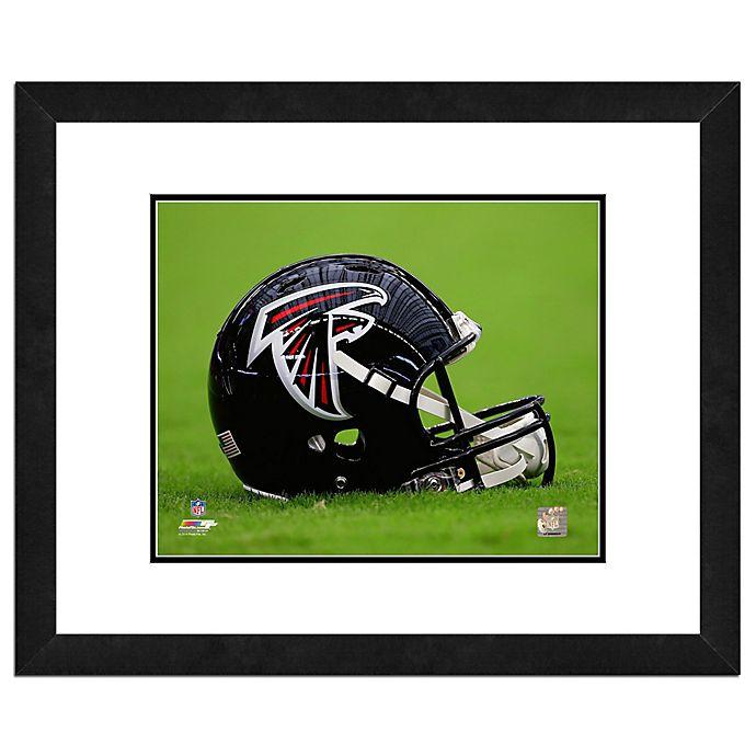 new concept 24a90 0d111 NFL 18-Inch x 22-Inch Atlanta Falcons Helmet Framed Photo ...
