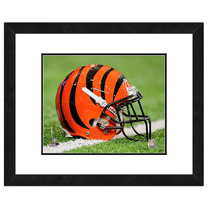 Alternate image 1 for NFL 18-Inch x 22-Inch Cincinnati Bengals Helmet Framed Photo