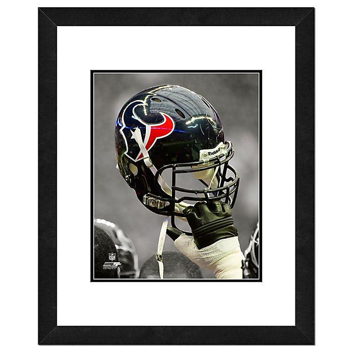 Alternate image 1 for NFL 18-Inch x 22-Inch Houston Texans Helmet Framed Photo
