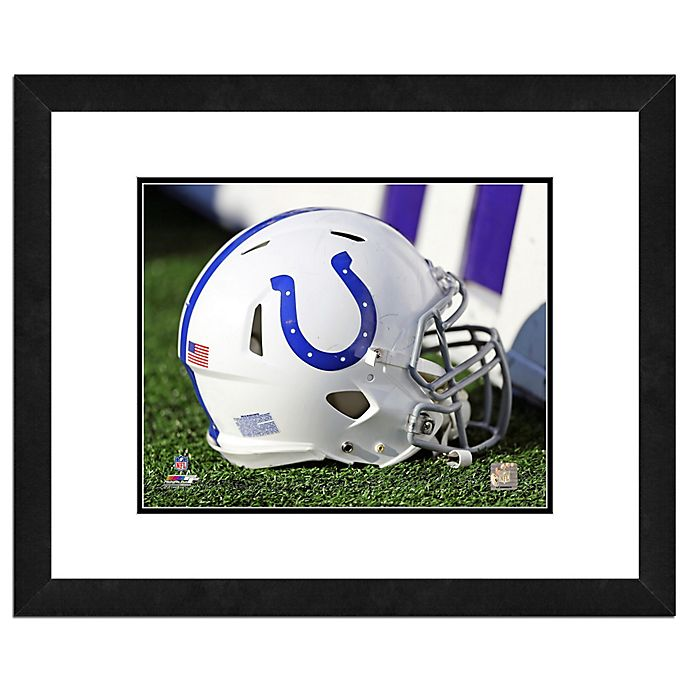 Alternate image 1 for NFL 18-Inch x 22-Inch Indianapolis Colts Helmet Framed Photo