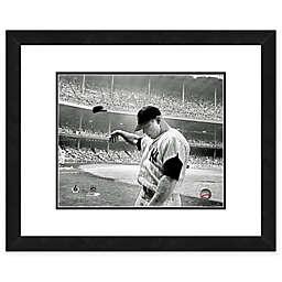 MLB Framed 11-Inch x 14-Inch Baseball Legends Mickey Mantle Photo