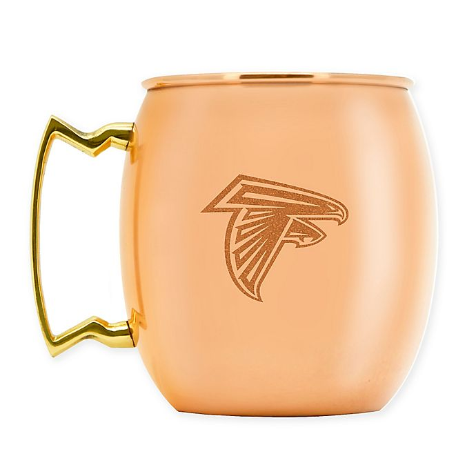 Alternate image 1 for NFL Atlanta Falcons 16 oz. Copper Moscow Mule Mug