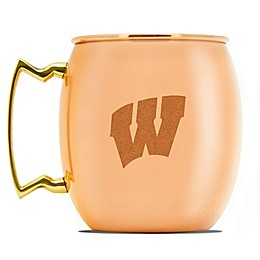 University of Wisconsin 16 oz. Copper Moscow Mule Mug