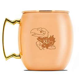 University of Kansas 16 oz. Copper Moscow Mule Mug