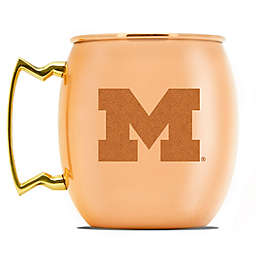 University of Michigan 16 oz. Copper Moscow Mule Mug