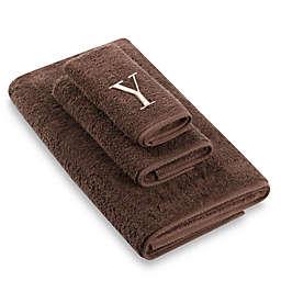 "Avanti Premier Ivory Block Monogram Letter ""Y"