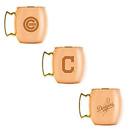 MLB 16 oz. Copper Moscow Mule Mug Collection