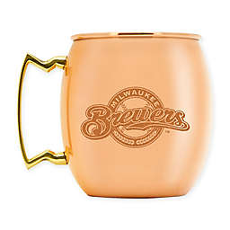 MLB Milwaukee Brewers 16 oz. Copper Moscow Mule Mug