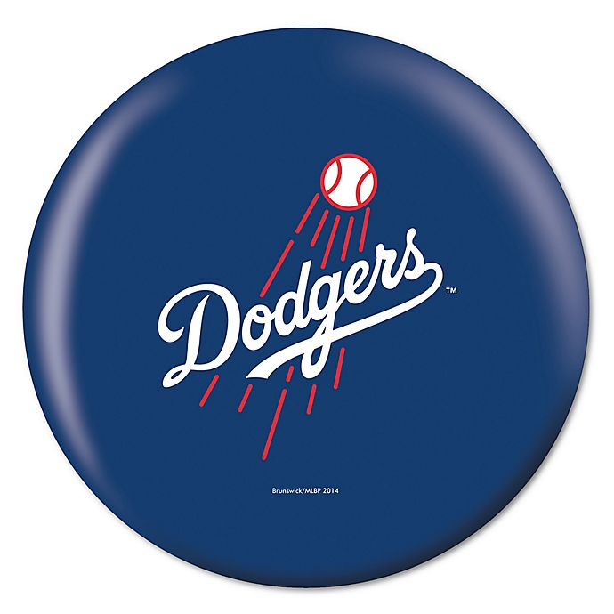Alternate image 1 for MLB Los Angeles Dodgers 14 lb. Bowling Ball