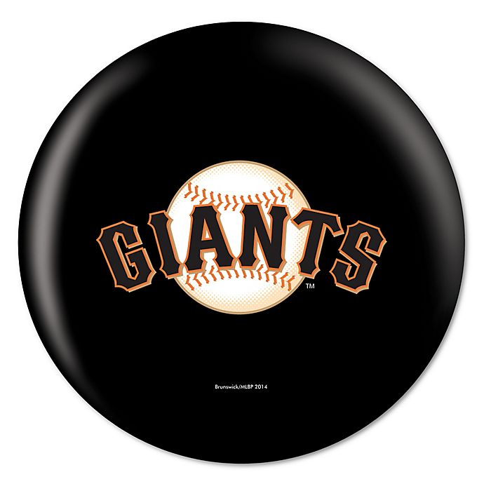 Alternate image 1 for MLB San Francisco Giants 15 lb. Bowling Ball