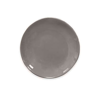 Artisanal Kitchen Supply® Curve Appetizer Plate  in Grey