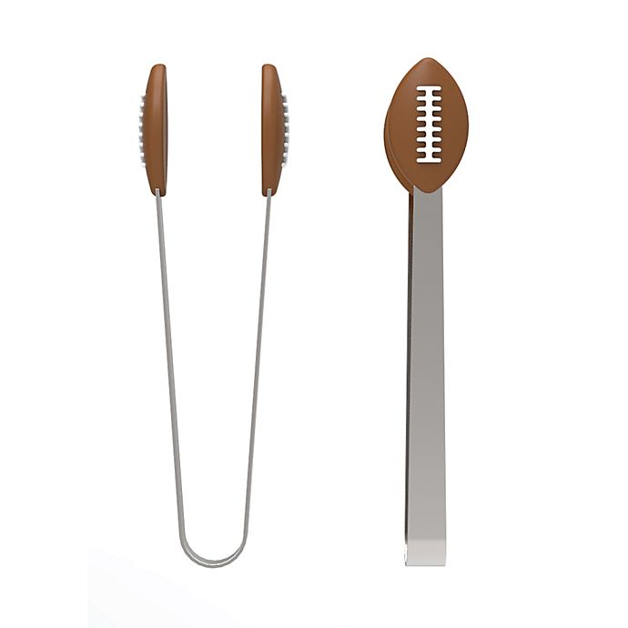 Alternate image 1 for Kitchen Innovations Football Mini Tongs