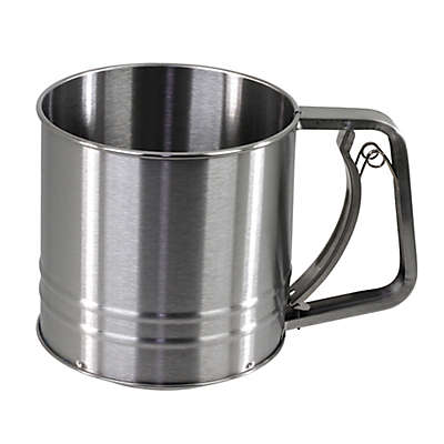 SALT™ 3-Cup Stainless Steel Flour Sifter