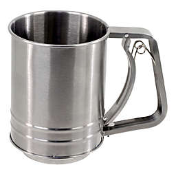 SALT™ 5-Cup Stainless Steel Flour Sifter