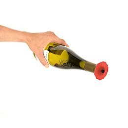 Poppy Bottle Stopper in Red