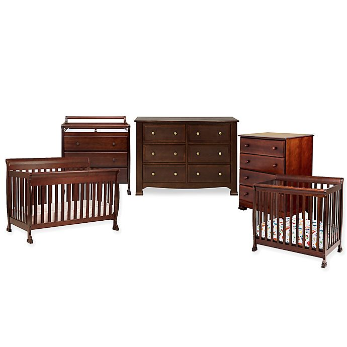 Alternate image 1 for DaVinci Kalani Baby Furniture Collection in Espresso