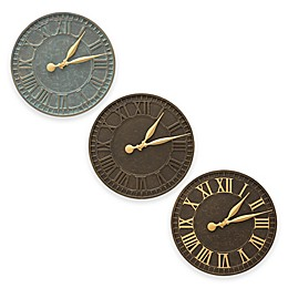 Whitehall Products 16-Inch Geneva Indoor/Outdoor Wall Clock