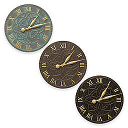Whitehall Products Artisan Indoor/Outdoor Wall Clock