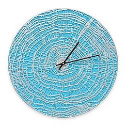 Whitehall Products End Grain Indoor/Outdoor Wall Clock