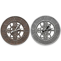 Whitehall Products 21-Inch Gear Indoor/Outdoor Wall Clock