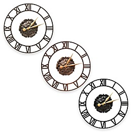 Whitehall Products Rosette Wall Clock
